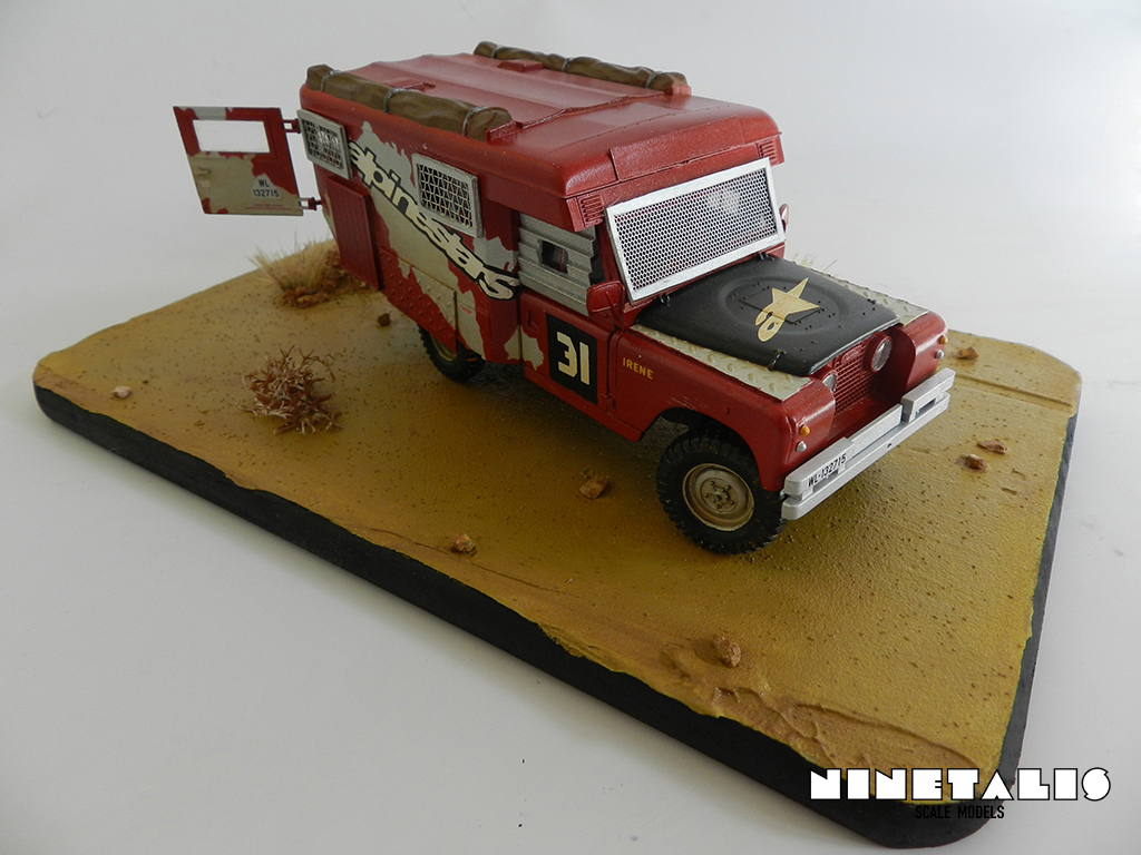 Land rover ambulance 51 ninetalis scale models - Land keuken model ...