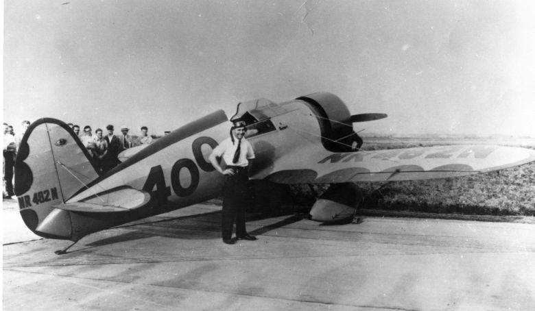 Travel_Air_Mystery_Ship_with_Doolittle