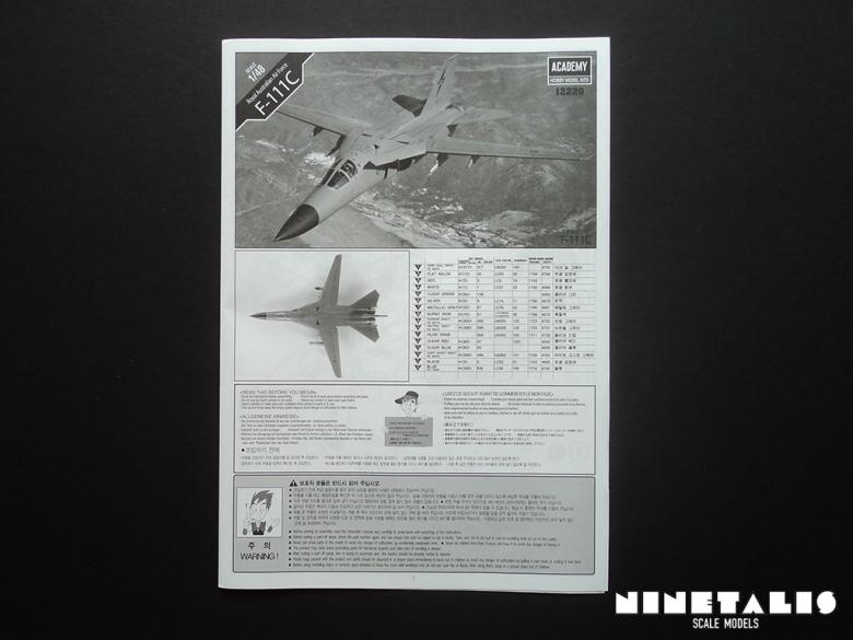 F111Cinstructionsfront
