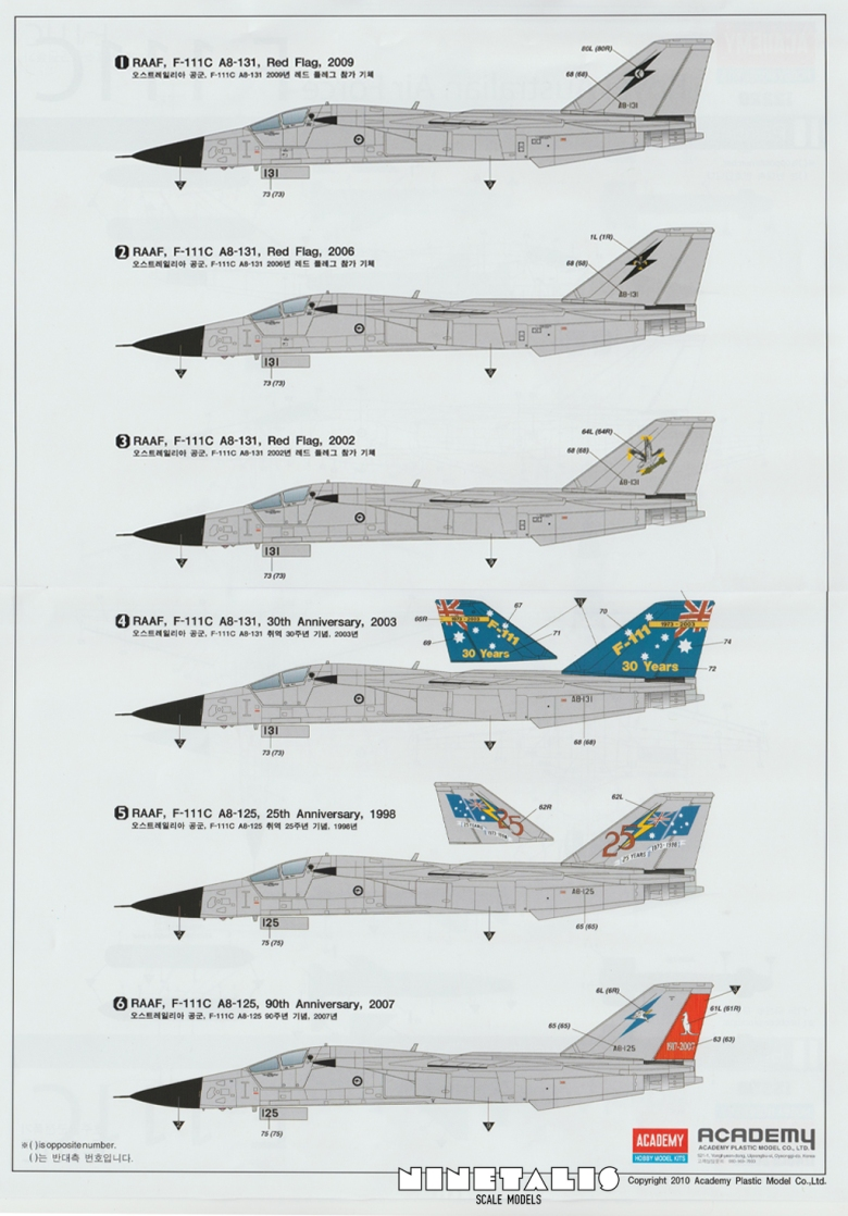 F111markings