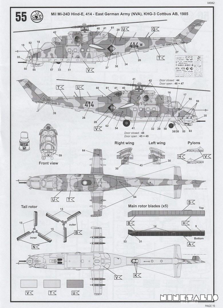Revell 1/48 Mi-24D Hind-D