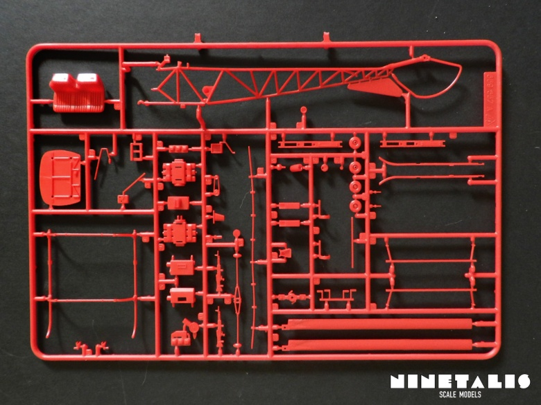 The A sprue of the Italeri OH-13/AB-47 Coast Guard kit 859.