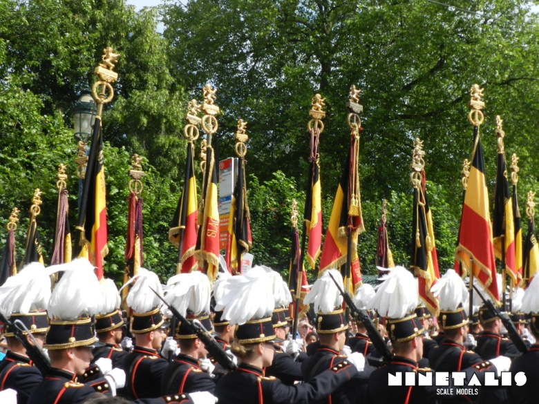 belgian-army-flags