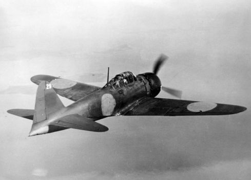 1024px-Captured_A6M5_in_flight_1944