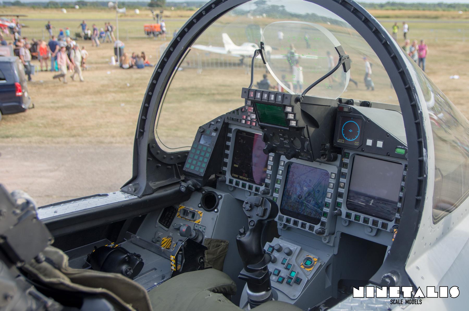Eurofighter Typhoon cockpit – Ninetalis scale models